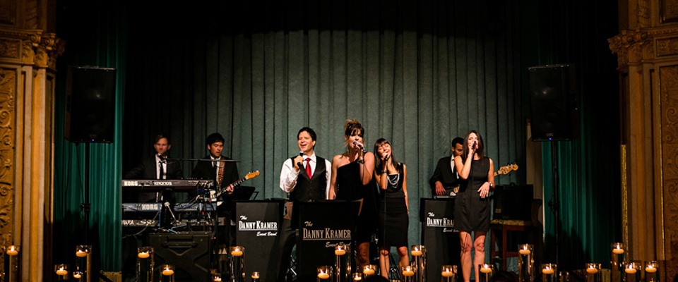 The Danny Kramer Dance Band is Manitoba's top wedding and corporate event band. Photo by Curtis Moore Photography.