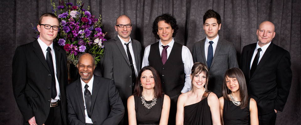 Members of the Danny Kramer Dance Band at the 2014 Bravo Gala. Photo by Artistic Impressions Photography.