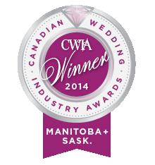 Canadian Wedding Industry Awards Winner 2014