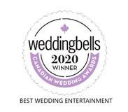 Weddingbells 2020 Winner Best Wedding Entertainment